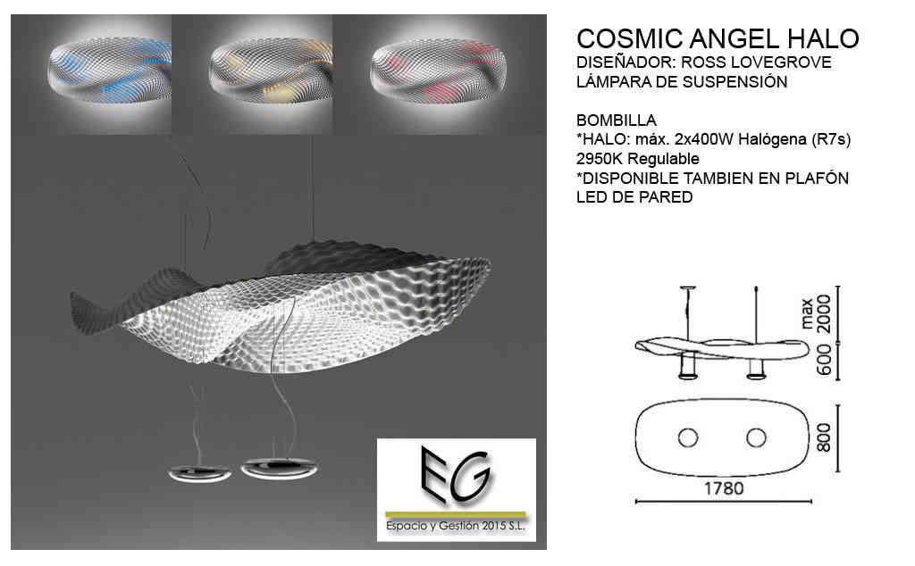 Lámpara Cosmic Angel Halo Artemide