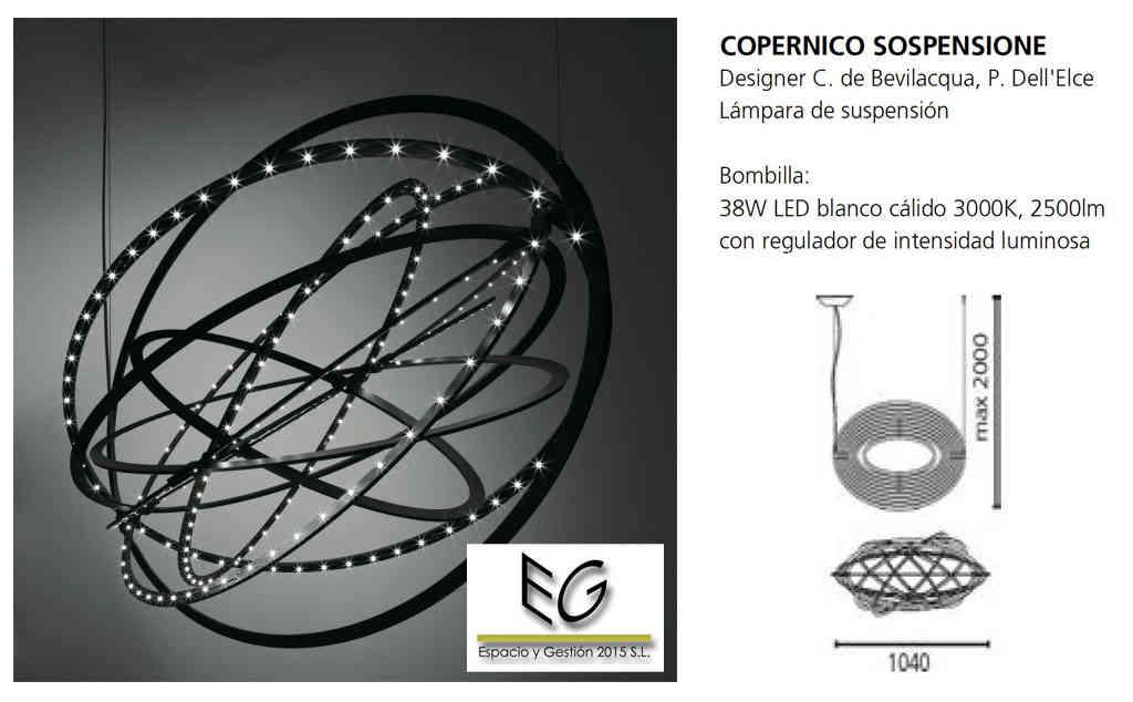 Lámpara Copernico Artemide