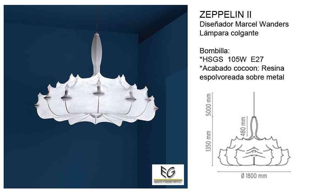 Lámpara Zeppelin Flos