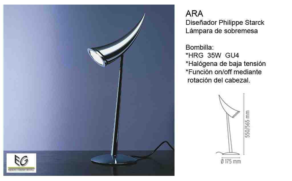 Lámpara Ara Flos