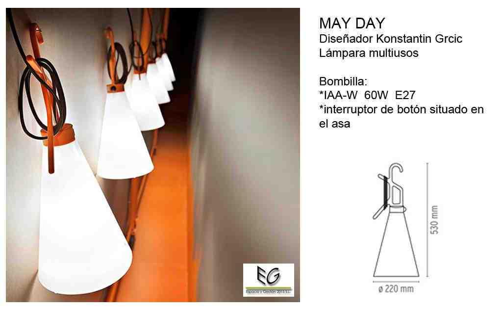 Lámpara May Day Flos