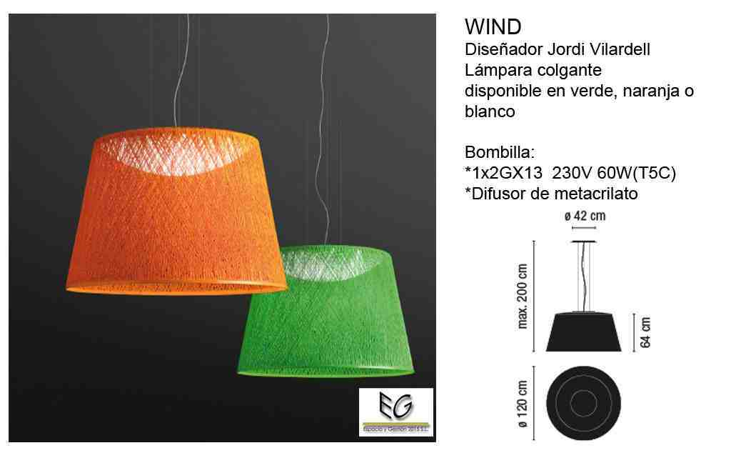 Lámpara Wind Vibia