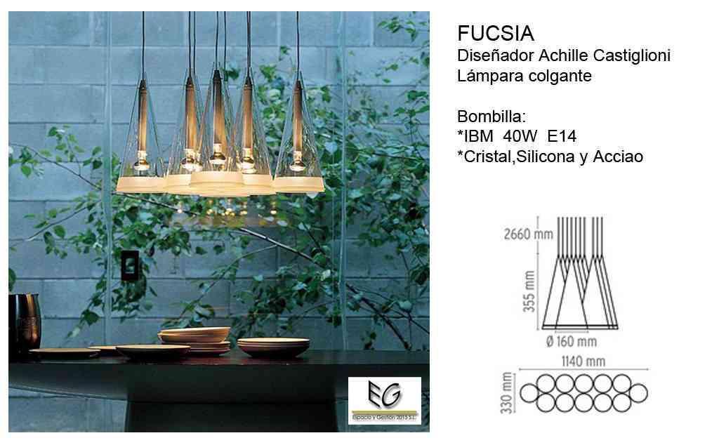 Lámpara Fucsia Flos