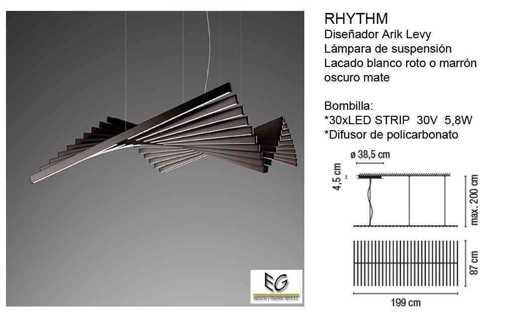 Lámpara Rhythm Vibia