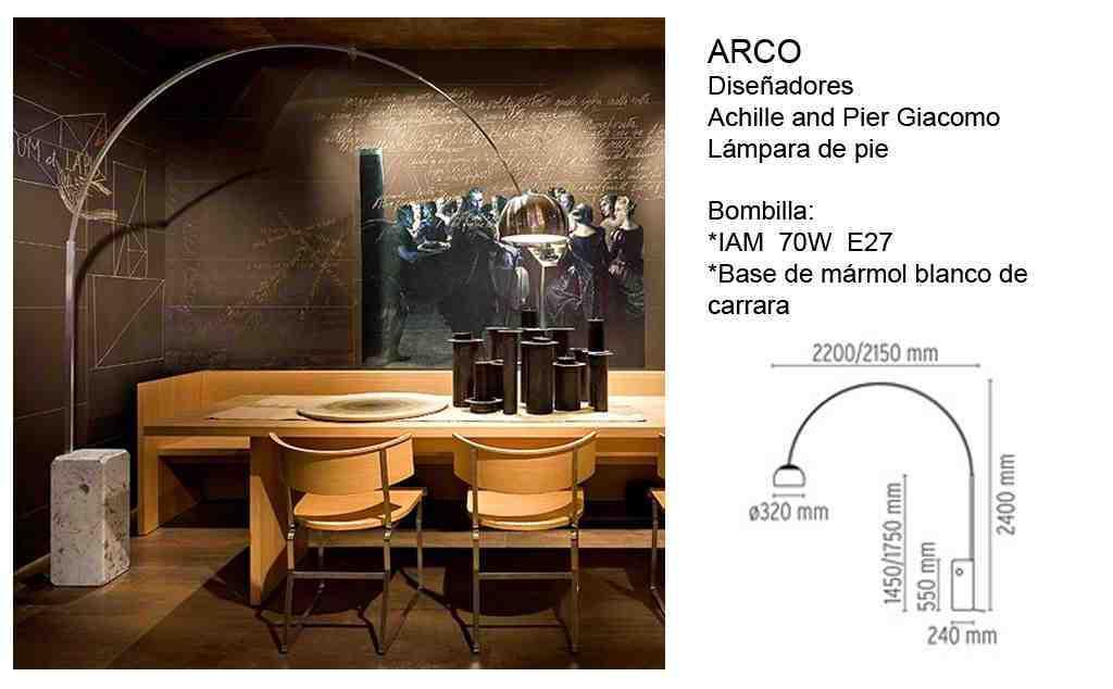 Lámpara Arco Flos