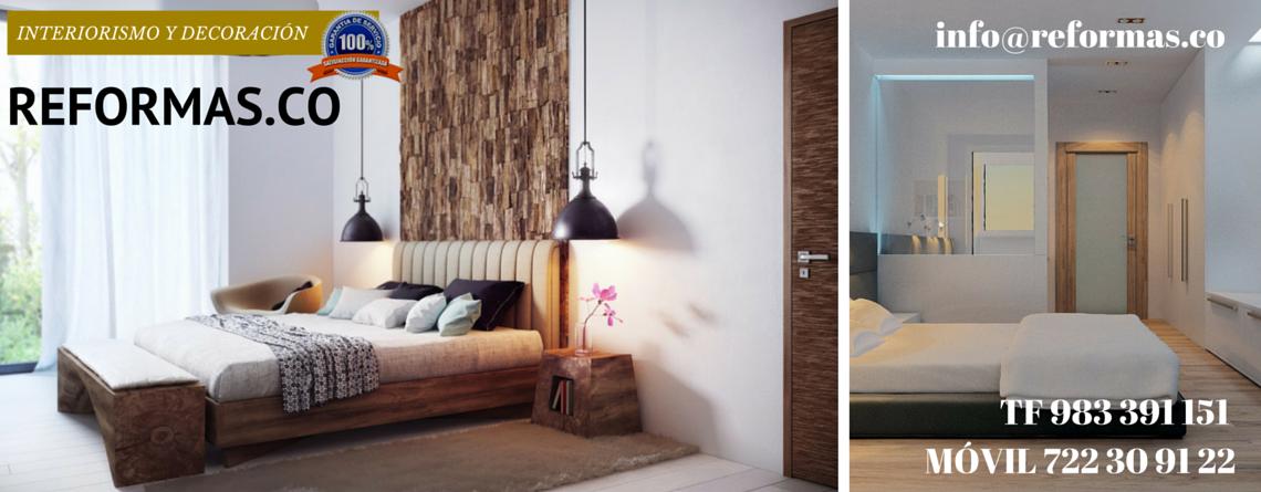panelado de madera en dormitorio minimalista