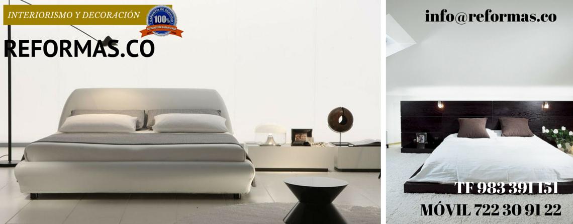 camas bajas en habitaciones minimalistas