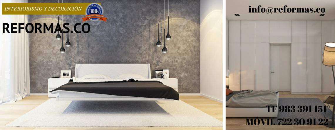 cama suspendida en habitación minimalista