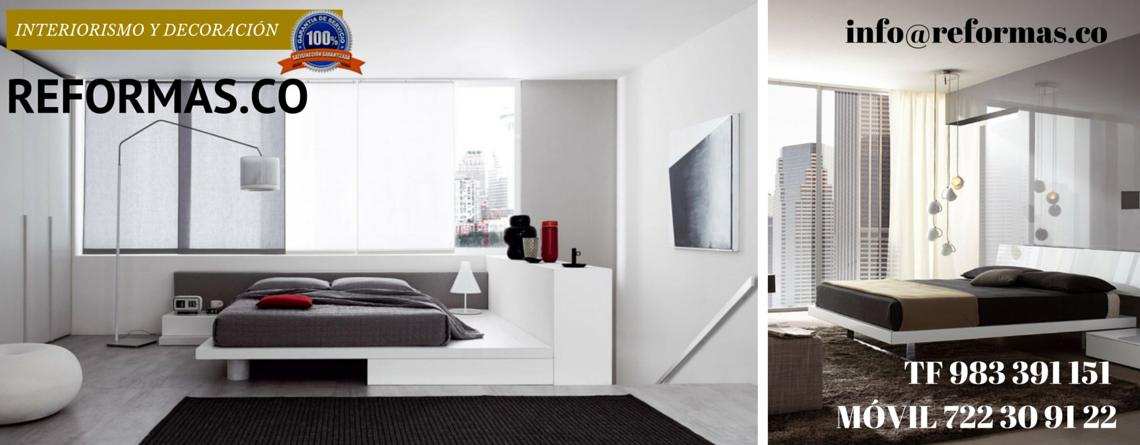 dormitorios minimalistas con accesorios
