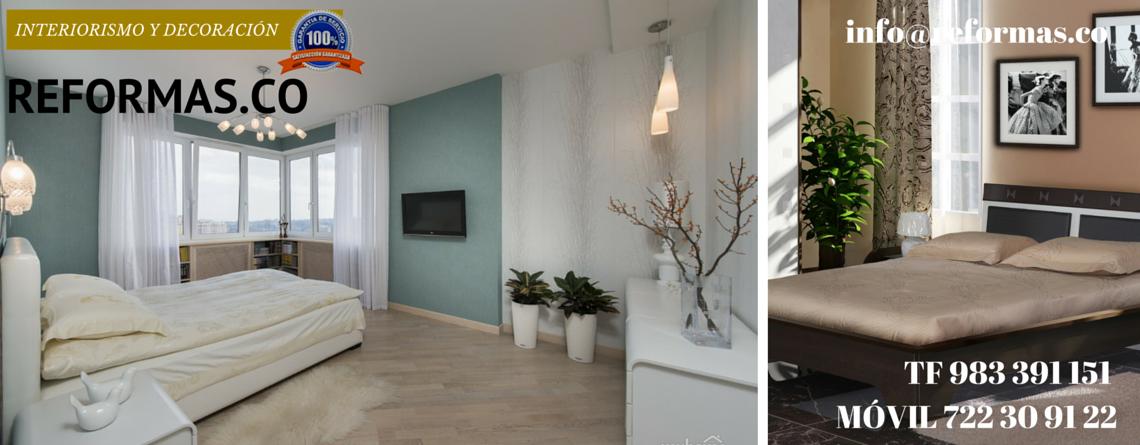 colores turquesa en habitación minimalista