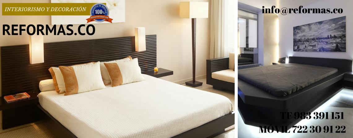 dormitorio minimalista tonos crema