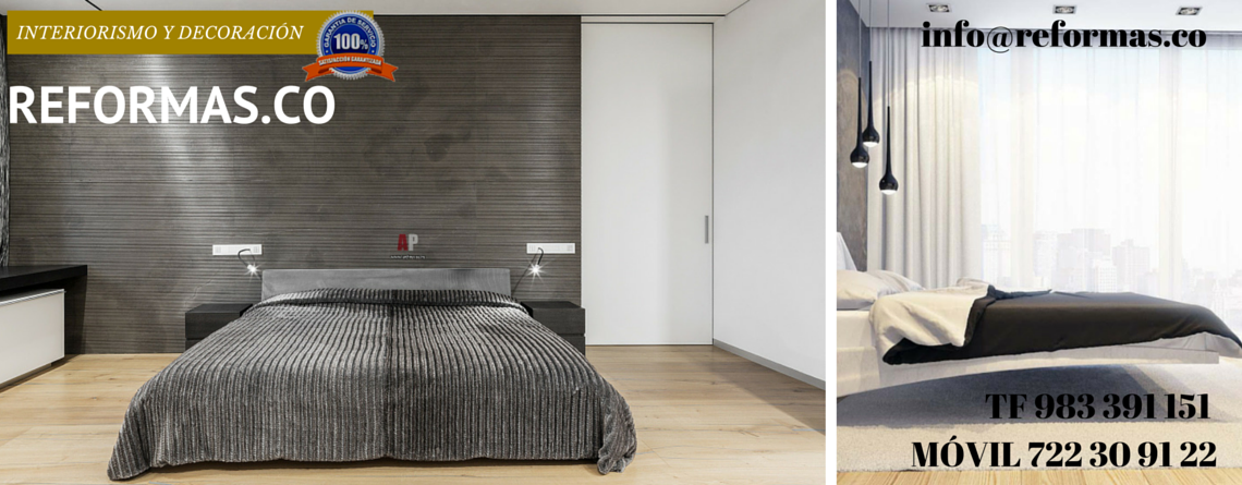 pared revestida en dormitorios minimalistas