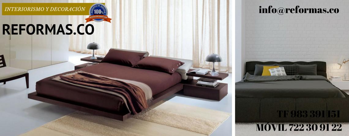 sábanas granates en dormitorios minimalistas