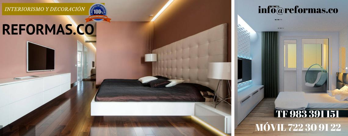 tonos magenta en dormitorios minimalistas