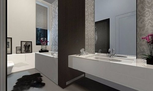 baños minimalistas de lujo