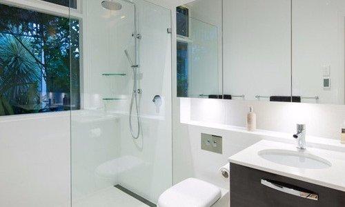 muebles para baños minimalistas