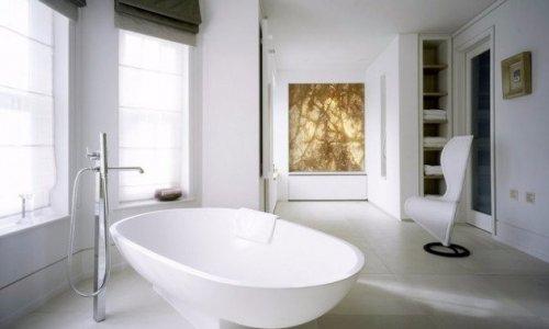 imagenes baños minimalistas