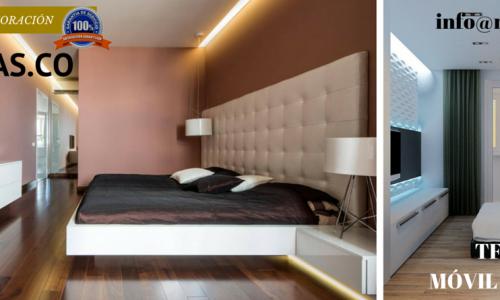 dormitorios minimalistas pequeños